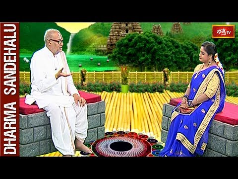 Sri Kandadai Ramanujacharya || Dharma Sandehalu || Full Episode || 26 May 2018 || Bhakthi TV