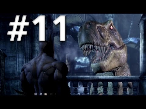 Road To Arkham Knight - Batman Arkham City - Walkthrough - Part 11 - Dinosaur Museum