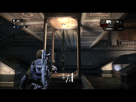 Gears of war Judgment Huevo de Pascua Museo Infinity Blade