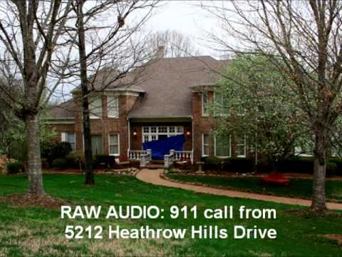 RAW AUDIO: 911 call from 5212 Heathrow Hills Drive