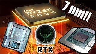 AMD SE LA SACA!! | 12 NUCLEOS EN LOS RYZEN 3000, RX 5700, NVIDIA LAPTOPS Y MUUUUCHO RGB