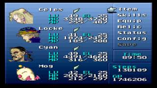 Final Fantasy VI (III) - Brave New World Mod + Nowea Difficulty Patch: Episode 60.