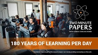 OpenAI + DOTA2: 180 Years of Learning Per Day