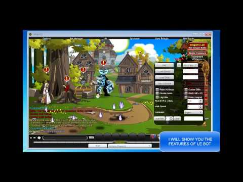 AQWorlds - Le Bot 6.2 by JamesR