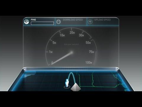 Как сделать замеры скорости интернета