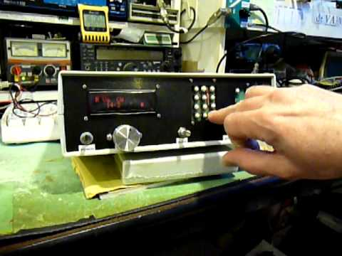 Homebrew Ham Radio DC Transceiver