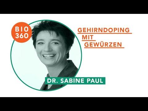 128 Gehirndoping mit Gewürzen: Dr. Sabine Paul - 1/4