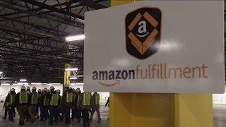 Get a sneak peek inside Kenosha's new Amazon distribution center