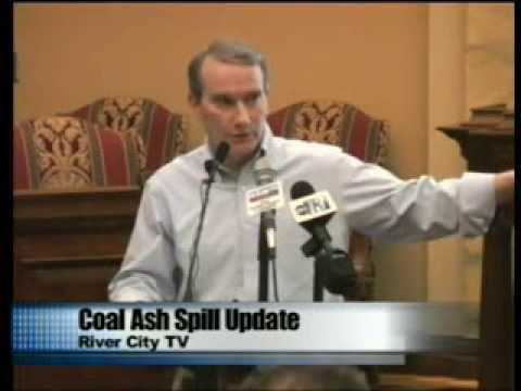 Duke Energy Coal Ash Spill Press Conference - Danville, Virginia