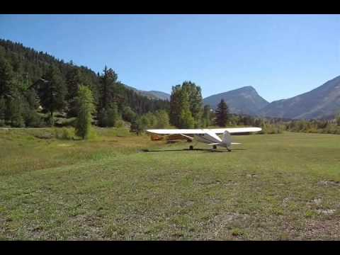 Some of my friends and fellow pilots talked me into taking my little 140 and landing in this field in Marble, Colorado. Their planes are far more powerful th...