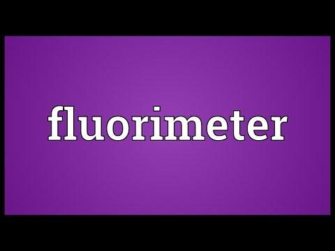Header of fluorimeter