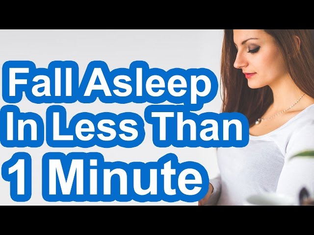 How to Fall Asleep In Less Than 1 Minute