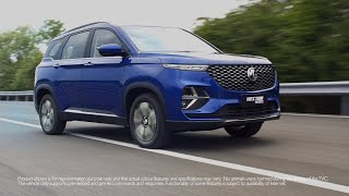Presenting the MG Hector Plus
