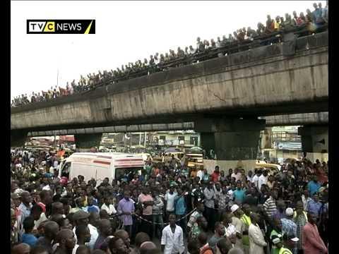 Container smashes SUV in Lagos, kills three