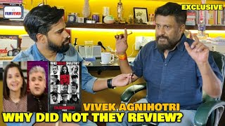 Hipocrisy of Film Critics | Why Did Not They Review The Tashkent Files? | Vivek Agnihotri REACTION