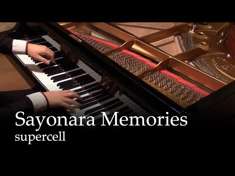 Sayonara Memories - Supercell [piano]