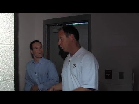 Chase Field tour with Luis Gonzalez