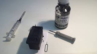 How to Refill Canon Black Ink Cartridge