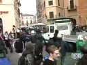 scontri a roma tg1 29 10 08