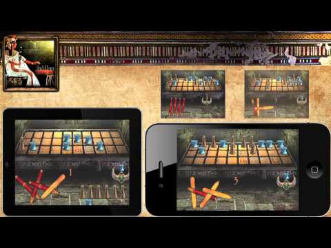 Egyptian Senet (Ancient Egypt Game) - Apple AppStore-Google Play-Amazon Apps-Samsung Galaxy Apps