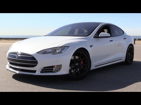 2016 Tesla Model S P90D w/Ludicrous Mode - Power Up. Road Test & In Depth Review