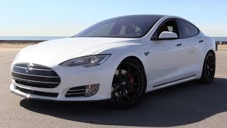 2016 Tesla Model S P90D w/Ludicrous Mode - Power Up, Road Test & In Depth Review