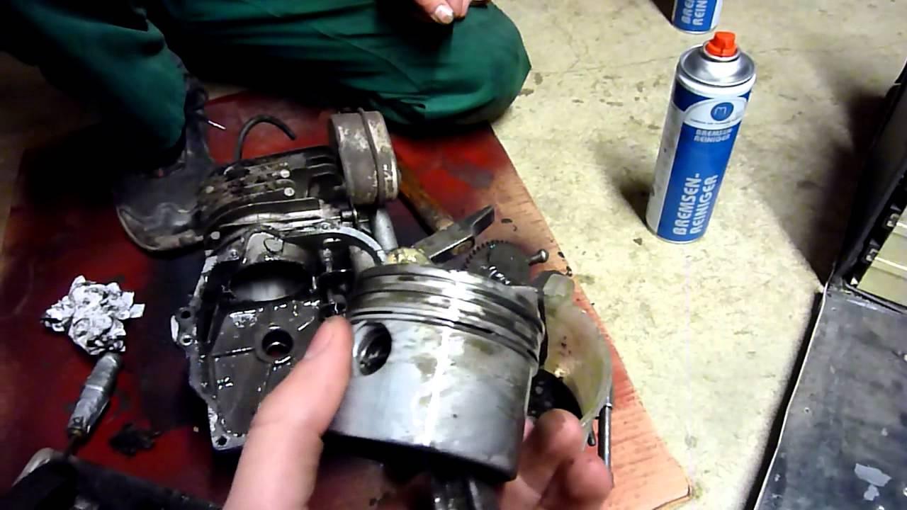 Briggs And Stratton Engine >> BVS Zerlegung.....Pleul gerissen, alles kaputt :D - YouTube