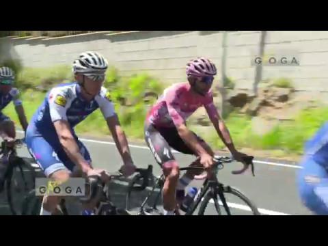 VIDEO REPORTE Día de descanso con la Maglia Rosa Fernando Gaviria Giro 100