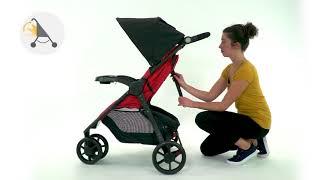 Safety 1st Urban Trek 3-wheels stroller instruction video
