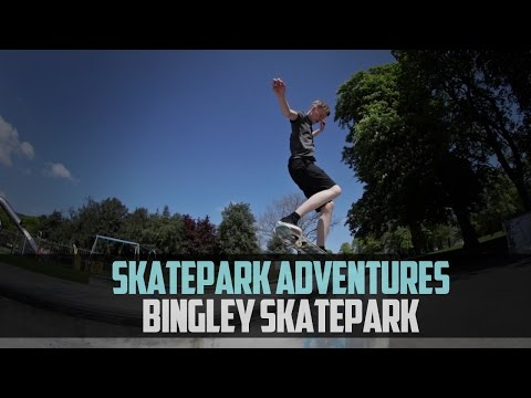 Skatepark Adventures Ep3: Ledge Heaven (Bingley Skatepark)