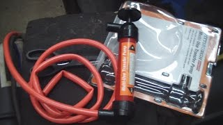 Cheap Gear Lube Transfer Pump and Differential Oil Change
