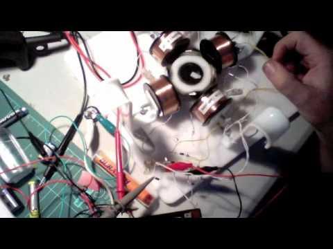Ossie Motor - with metglas toroids