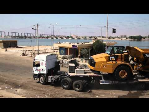"The New Suez Canal Project by Caterpillar Machines ""Part 2"""