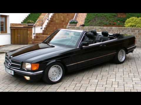 mercedes benz 500 sec sgs cabriolet marbella youtube. Black Bedroom Furniture Sets. Home Design Ideas