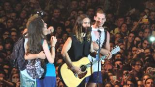 30 Seconds to Mars Video - 30 Seconds To Mars - Alibi (con fans) - Torino 19/06/2014 HD
