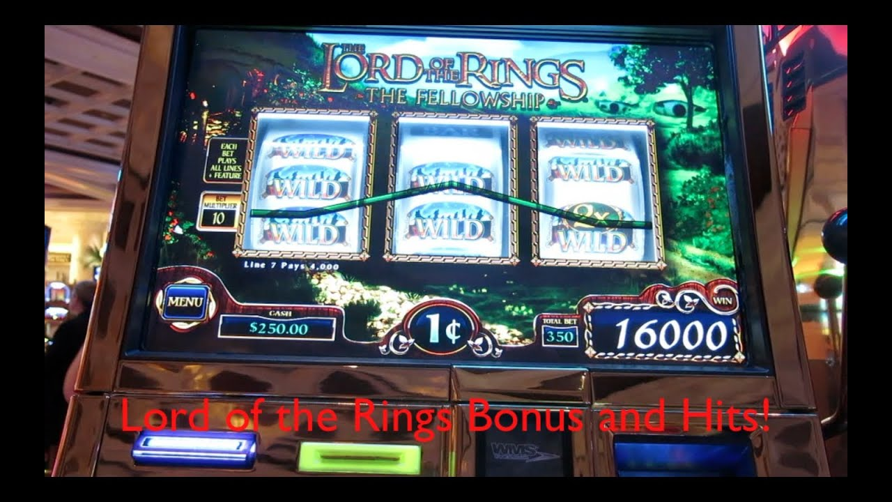 Free online lord of the rings slot games man who invented roulette killed himself