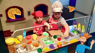 Pretend Play Kitchen Cooking Toy Food Inspired By Blippi at The Childrens Museum 2019