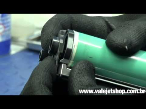 Vídeo Recarga Toner HP Q7551A   51A   P3005   M3035 - Vídeo Aula Valejet.com