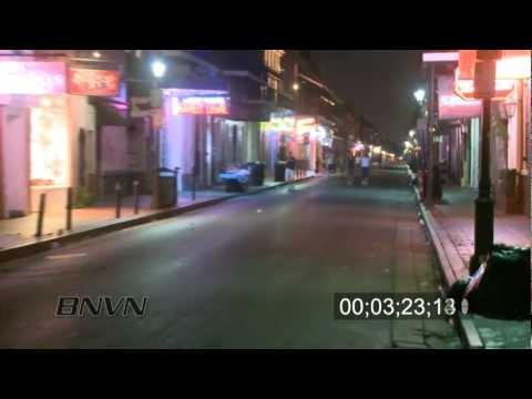 Hurricane Gustav Video, 2008 Part 4. - New Orleans, LA