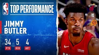 Jimmy Butler Drops 30 of his 34 PTS in First Half!