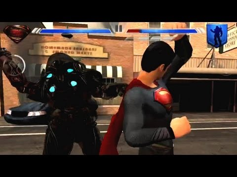 Man of Steel iOS iPhone / iPad Gameplay Review - AppSpy.com