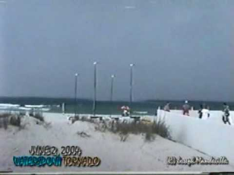 Hit by A Tornado in Panama City Beach, Florida