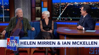 Helen Mirren & Ian McKellen Act Out Trump's Ukraine Quid Pro Quo Call