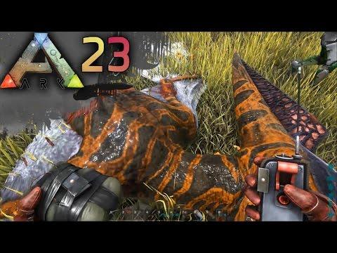 ARK: SURVIVAL EVOLVED E23 - C4 Fun & ALPHA Dino Terror | Docm77 [1080p]