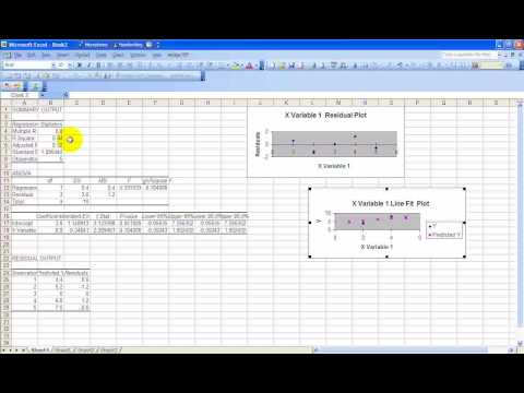 Watch How to Run Regression Analysis in Microsoft Excel video