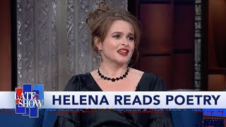 A Poetry Reading With Helena Bonham Carter And Stephen Colbert