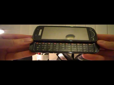 Samsung Omnia Pro Unboxing Part 1