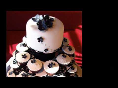 I' Elegant Wedding Cupcakes and Black and White Wedding Cupcakes