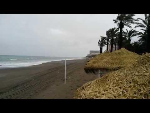 Playa Del Bajondillo Invierno 2015 Torremolinos