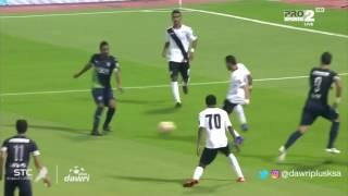 عمر السومة يسجل الهدف الثالث للأهلى